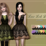 Trillyke's Favourites | Lace Loli Dress A big, puffy dress, partly covered…