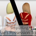 Simply King Fae's Possession Top