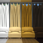 GreenGirl100 | Build a Curtain Set Curtains 4 different widths…