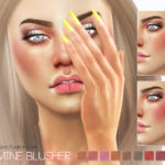 Pralinesims' Jasmine Blusher N23