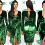 sims2fanbg's 159 – Kim Kardashian dress