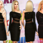 sims2fanbg's 160 – Britney Spears Dress