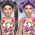 SintikliaSims' Sintiklia – Hair set Sally child