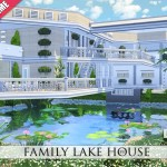 Pralinesims' Family Lake House
