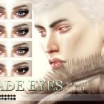 Pralinesims' Jade Eyes N69 NON DEFAULT + DEFAULT