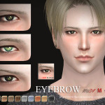 S-Club WM thesims4 Eyebrows 34M
