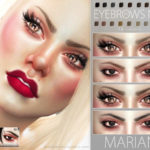 Pralinesims' Marian Eyebrows N91