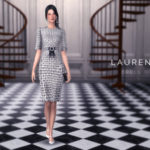 SLYD's Houndstooth Check Dress – LAUREN
