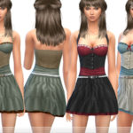 ekinege's Pretty Top & Skirt – Set12