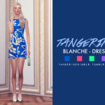 tangerinesimblr's Blanche – Dress