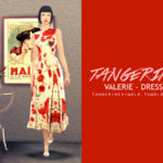 tangerinesimblr's Valerie – Dress