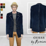 McLayneSims' Jourdan Denim Long Coat Jacket