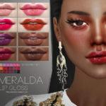 Pralinesims' Esmeralda Lip Gloss N71