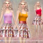 EsyraM's Floral dress S4