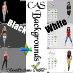 "CAS Backgrounds ""Black – White"""