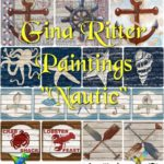 "Gina Ritter Paintings ""Nautic"""