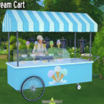 Around the Sims 4 | Custom Content Download | Objects | Ice-cream Stand