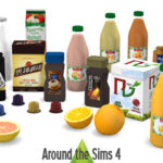 Around the Sims 4 | Custom Content Download | Breakfast clutter