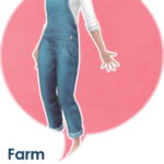 Leh Gaming (Some overalls for farmer ladies: ◦ Teen to elder…)