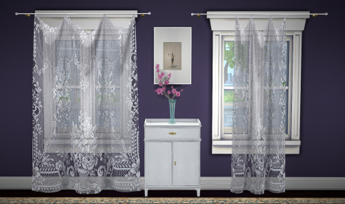 Greengirl100 Build A Curtain Set Lace Curtains 4