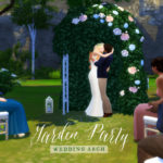 femmeonamissionsims — Garden Party Wedding Arch Throw your sims the…