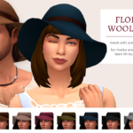 femmeonamissionsims — Floppy Wool Hat This is an edit of the base game…