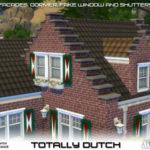 Ts4 CC finds Totally Dutch Build Set by Mutske