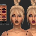 Matte Liquid Lipstick 01