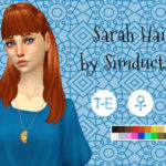 Simduction – Sarah Hair by Simduction New hair for females….