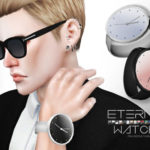 A reflective, big watch for your male sims. 15… – P R A L I N E S I M S