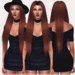 Salem — Brigitte Hair (TS4) 30 swatches works with hats …
