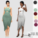 Cherryslice Simblr – A dress made out of a skirt and top from GT. Not…