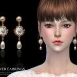 S-Club LL ts4 earring 16(f)