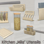 BuffSumm's Kitchen Utensils Mila