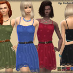 bukovka's Sundress & Lace