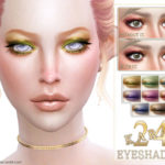 Screaming Mustard's [ 24 Karat ] – Shimmering Eyeshadow