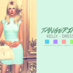 tangerinesimblr's Kelly – Dress