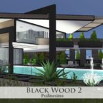 Pralinesims' Black Wood 2