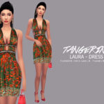 tangerinesimblr's Laura – Dress