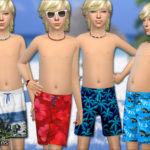 Pinkzombiecupcakes' Boys Summer Shorts