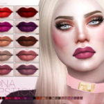 Pralinesims' Edna Lipstick N75