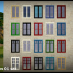 SimsDelsWorld: The Sims 4 : SDW Windows 01 set