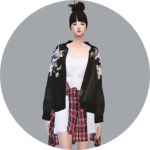 SIMS4 marigold: Female_ACC_Blouson_ jackets women _ Costume Accessories