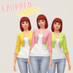 Baking up sweet CC treats! – Cropped Cardis I love these cute little cardigans…