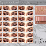 Naked 3 Eye-shadow Palette by MAC 12 Neutral… – Cosimetics