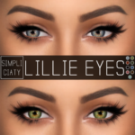[ Simpliciaty ] LILLIE EYES