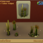 """Added """"Dine out"""" plants Have fun! Download @… – Designs for Sims"""