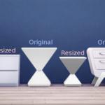GreenGirl100 | Resized EA Side Tables. I don't mind some EA…