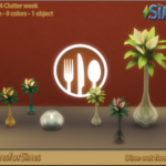 5 Clutter days to go…. Added resized Dining out… – Designs for Sims