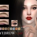 S-Club WM thesims4 Eyebrows 34F